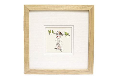 'You're Amazing' Dog & Budgerigar Print
