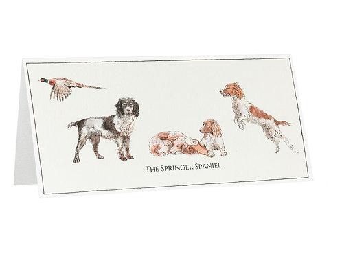 The Springer Spaniel Card