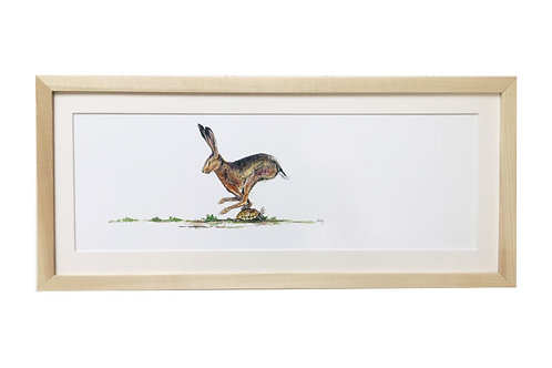 'The Hare & The Tortoise' Limited Edition Print