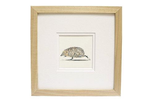 'Hodgepig' Hedgehog Print