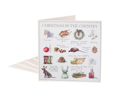 Christmas In The Country Christmas Cards