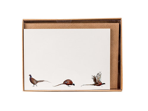 Three Pheasants Correspondence Postcards