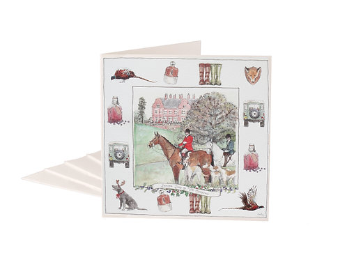 Boxing Day In The Country Christmas Cards