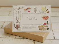 Bread and Butter Letter Thank You Card W