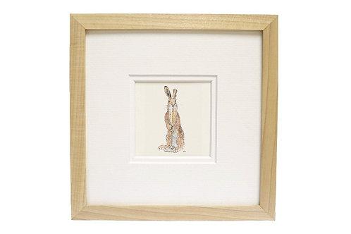 'Congratulations' Hare Print