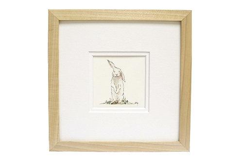 'Lucky Bunny' Rabbit Print