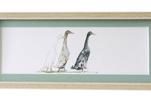 'On The Run' Duck Print