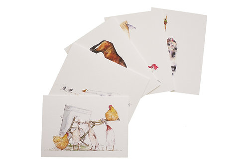 Note Cards From The Farmyard