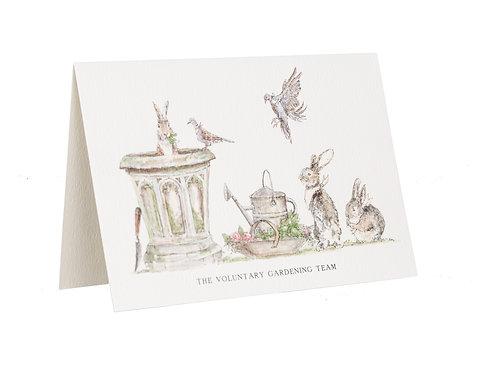 The Voluntary Gardening Team Card