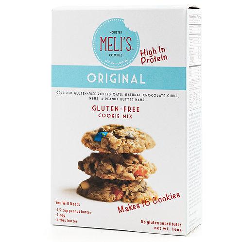 Meli's Monster Cookies, Original Flavor Cookie Mix, Certified Gluten-free (16oz