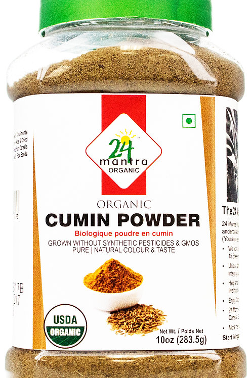 24 Mantra Organic Cumin Powder 8z