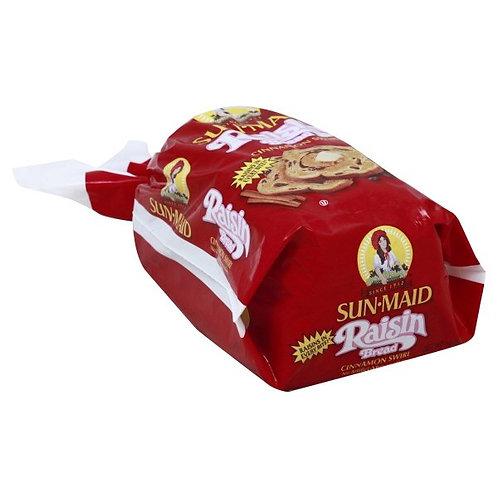 Sun-Maid Cinnamon Swirl Raisin Bread 16 oz. Bag