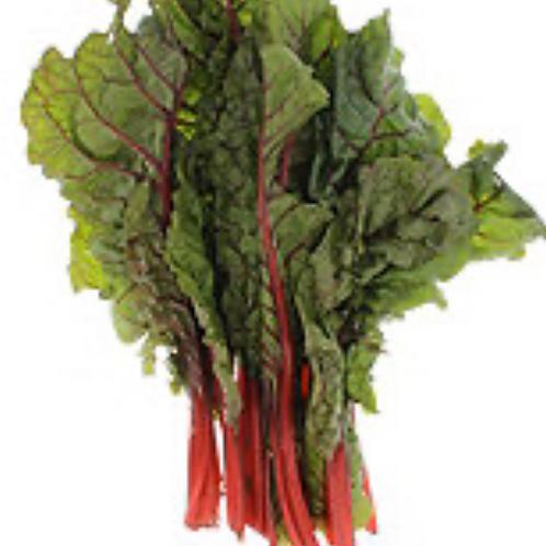 Organic red chard 1 bunch