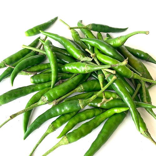 Thai green Chili Peppers 1lb.