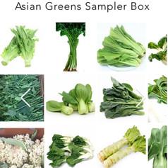 Asian Greens Sampler Box