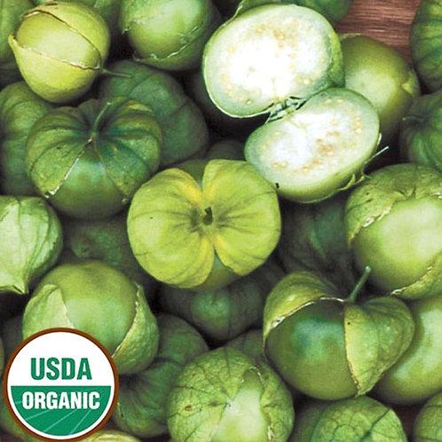 Organic Tomatillos 1 lb. (Locally grown)