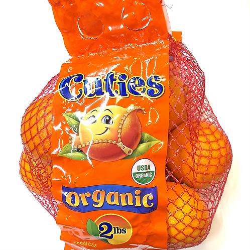 """Organic """"Cuties"""" Mandarins 2lbs"""