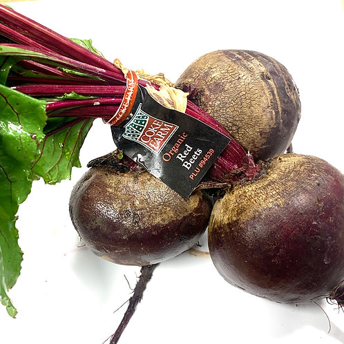 Organic Red Beets 1 bunch