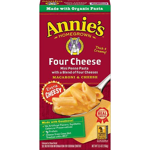 Annie's Four Cheese Mac & Cheese, 5.5 oz