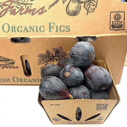 Organic black mission figs 1 pint