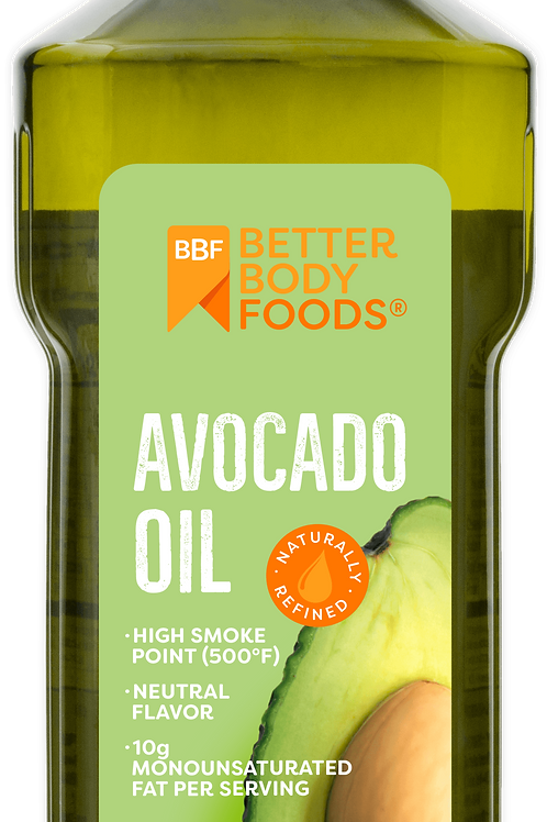 BetterBody Foods Pure Avocado Oil, 16.9 oz