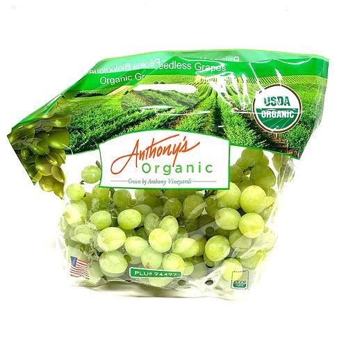 Organic Green Table Grapes (1.8-2lb)