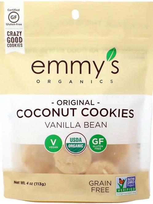 Emmy's Coconut Cookies Vanilla Bean 4z