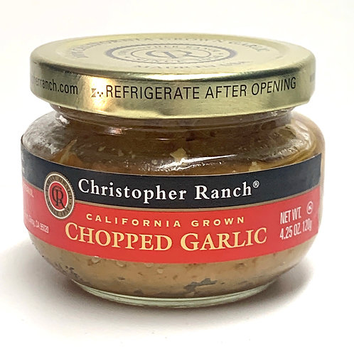 Christopher Ranch chopped garlic 4.25z (#83220)