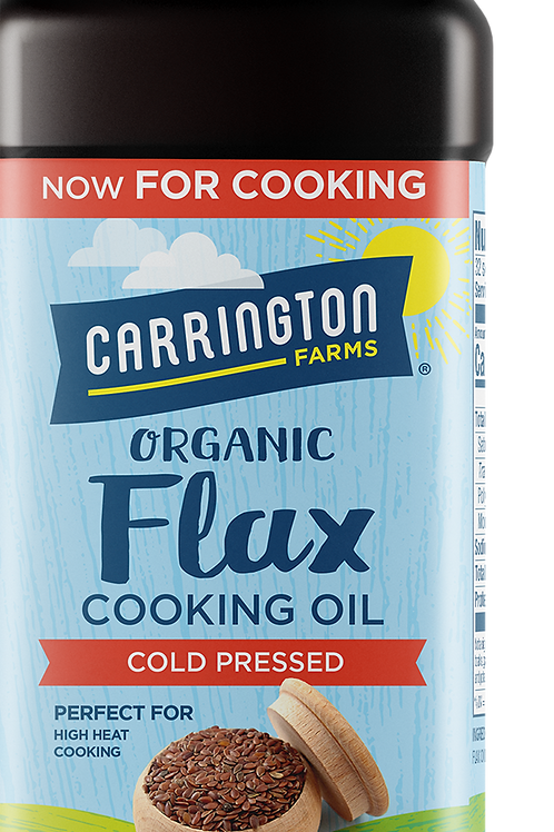 Carrington Farms Organic Flax Cooking Oil 16z