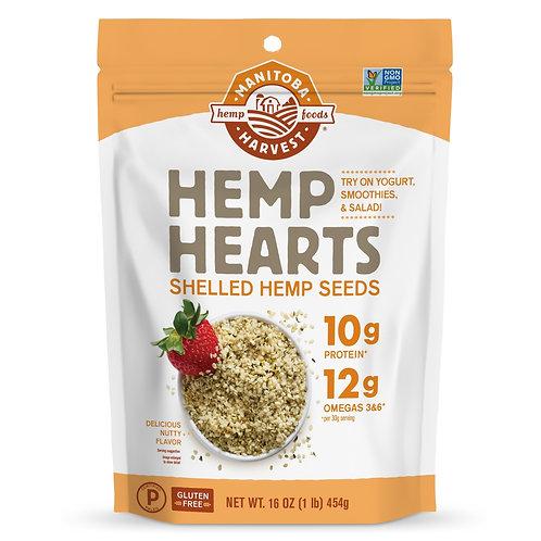 Manitoba Harvest Hemp Hearts, 16 oz