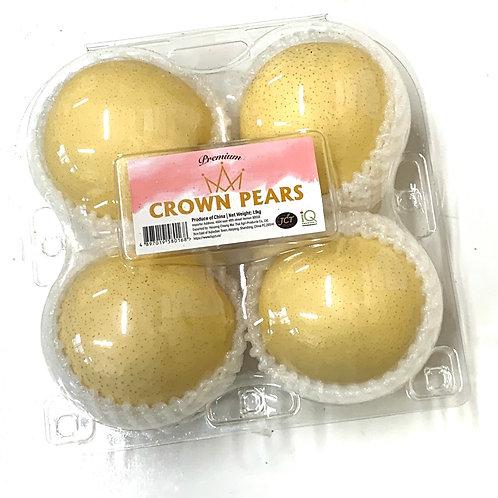 Crown pears 4pcs (Chn)