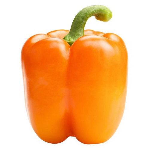 Orange Bell Pepper, 2 ea.