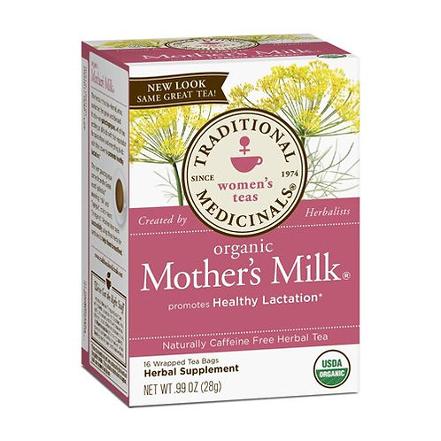 Traditional Medicinals Organic Mother Milk - 16 Wrapped Tea Bags