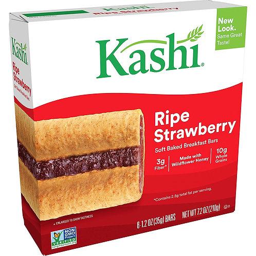 Kashi Soft Baked Breakfast Bars - Ripe Strawberry 6x1.2z