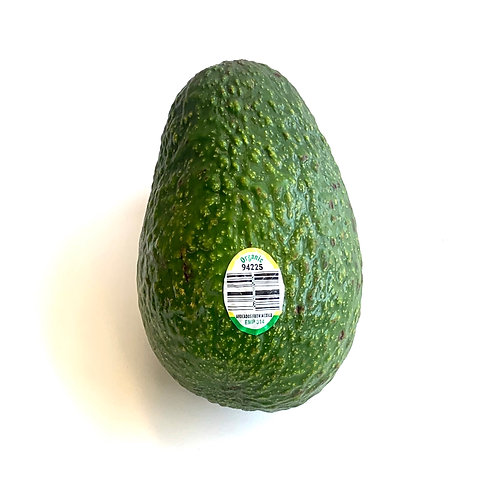 Organic Hass Avocado 1ea medium