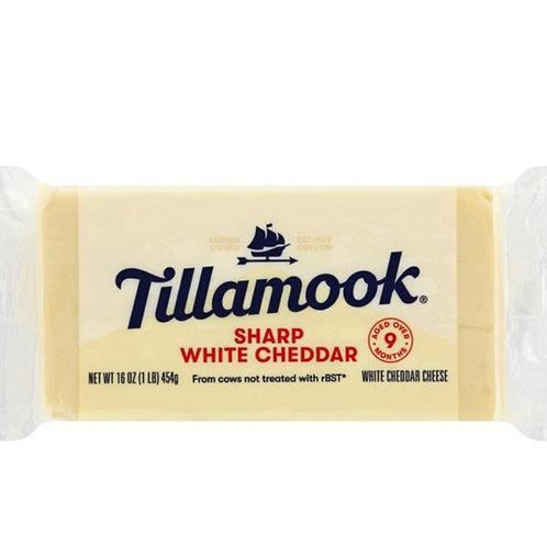 Tillamook sharp white cheddar cheese 16z