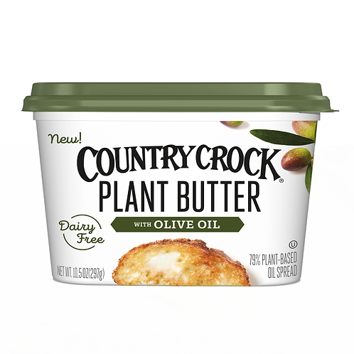 Country Crock Plant Butter with Olive Oil Tub, 10.5 oz