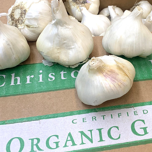 Organic garlic 1 lb. (USA)