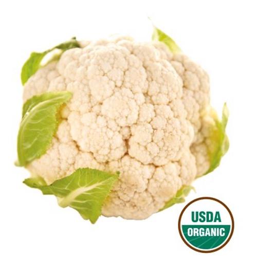 Organic Cauliflower (USA), 1 ea.