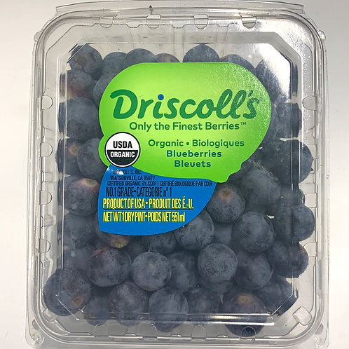 Driscoll's organic blueberries 1 pint