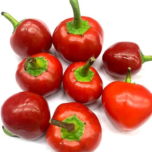 Organic Cherry Bomb Chili Peppers 1/4 lb  (Mx)