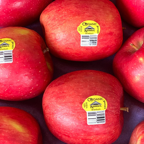 Organic Braeburn Apples 2pcs.