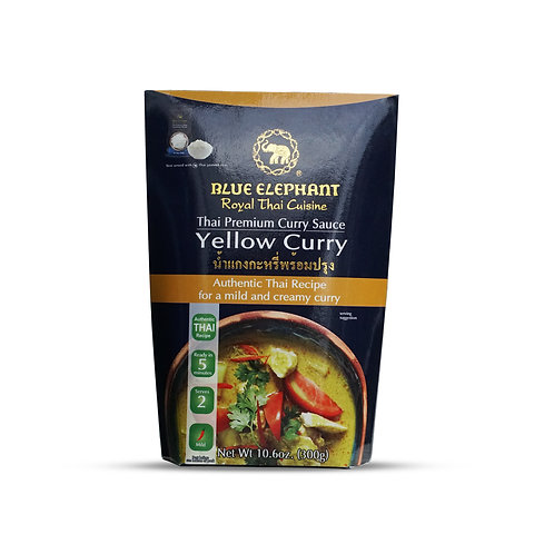Blue Elephant Yellow Curry Sauce 10.6z
