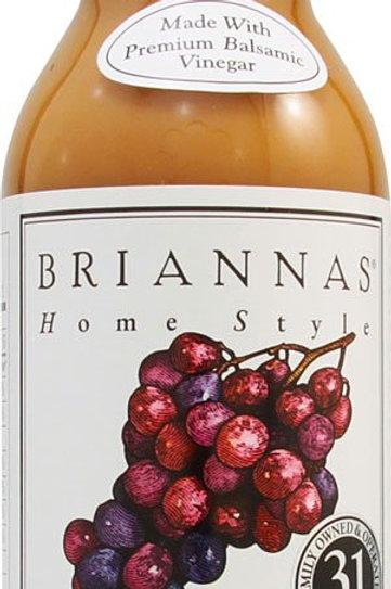 Briannas Home Style New American Dressing Creamy Balsamic -- 12 fl oz