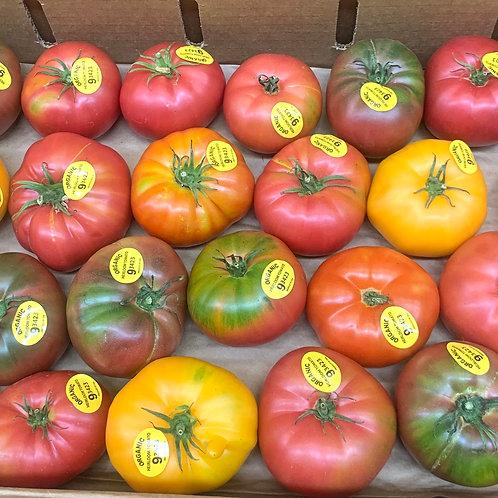 Organic Heirloom Tomatoes 1 lb