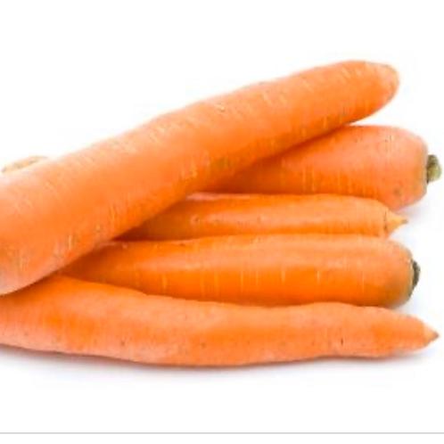 Organic clip top carrots (USA), 2 lbs.