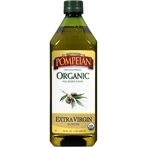 Pompeian Organic Extra Virgin Olive Oil - 32 fl oz