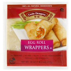 Twin Dragon Egg Roll Wrappers, 18 Oz.