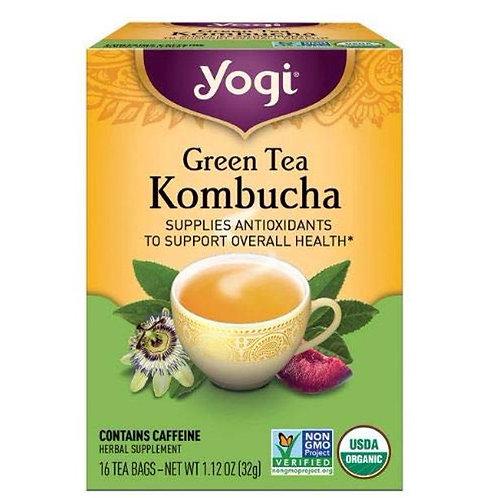 Yogi Tea Organic Kombucha Green Tea 16 tea bags