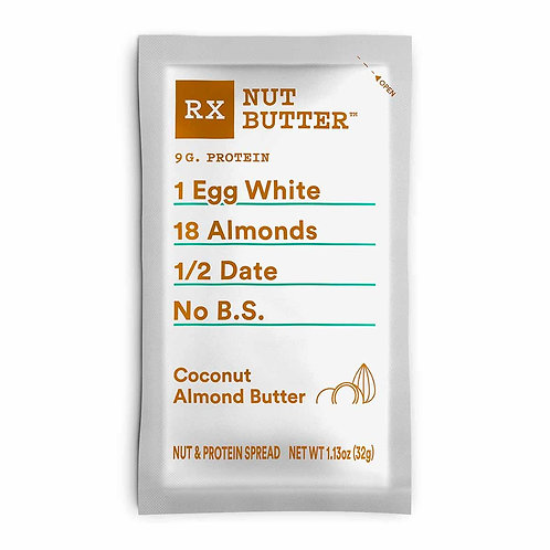 RX Nut Butter Coconut Almond Butter, Single Serve Packet, 1 Ct